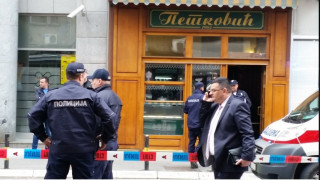 «Καμικάζι» πυροδότησε χειροβομβίδα μέσα σε φούρνο στο Βελιγράδι