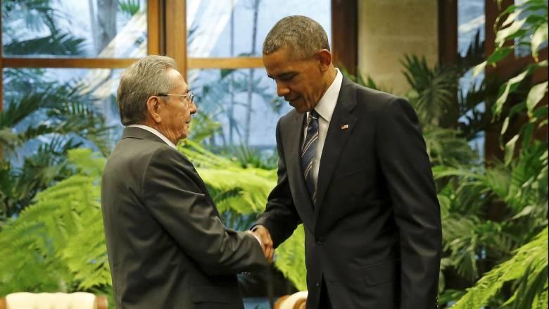 Ιστορική συνάντηση Ομπάμα-Κάστρο στην Αβάνα