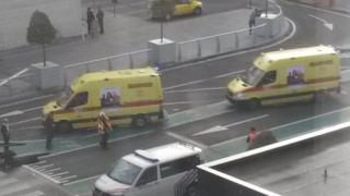 Εκρήξεις Βρυξέλλες: Βίντεο ντοκουμέντο λίγες στιγμές μετά τις εκρήξεις