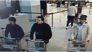 Εκρήξεις-Βρυξέλλες: Φώτο ντοκουμέντο από τους ύποπτους για την επίθεση στο αεροδρόμιο