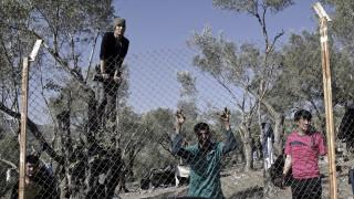 Προσφυγικό: Διαμαρτυρία από τους πρόσφυγες στη Λέσβο
