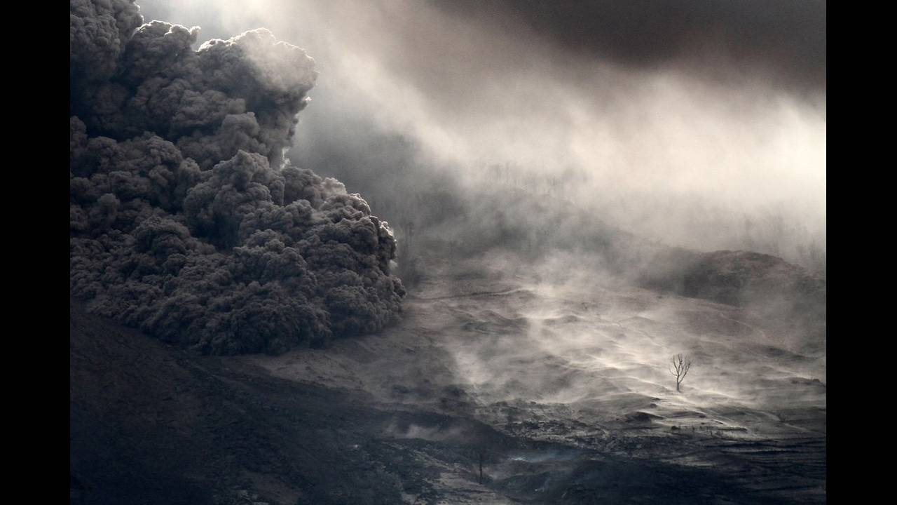 "Tο μεγάλο βραβείο πήγε στον Albert Ivan Damanik από την Ινδονησία για τη λήψη του  με τίτλο ""Remaining on the Slopes of Mount Sinabung."""