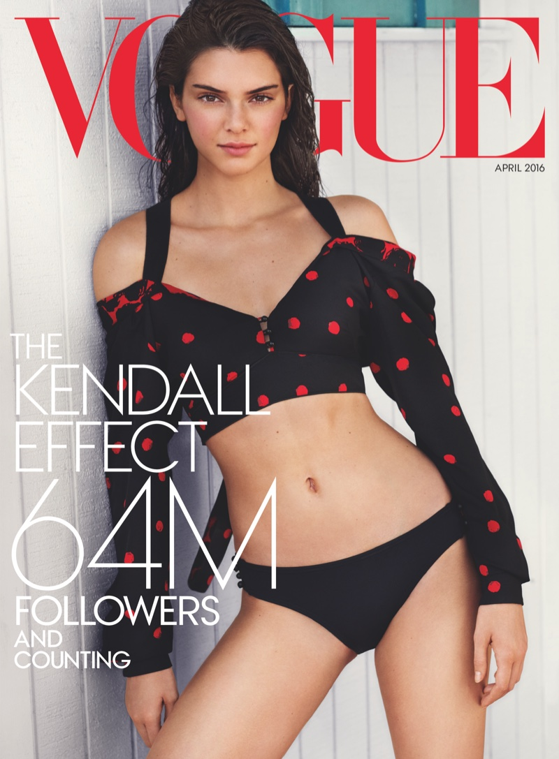 Kendall Jenner Vogue April 2016 Cover Photoshoot01