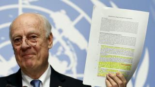 ΟΗΕ: Στις 9 Απριλίου ξεκινούν ξανά οι διαπραγματεύσεις για τη Συρία