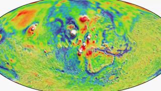 NASA: Νέος λεπτομερής χάρτης του πλανήτη Άρη