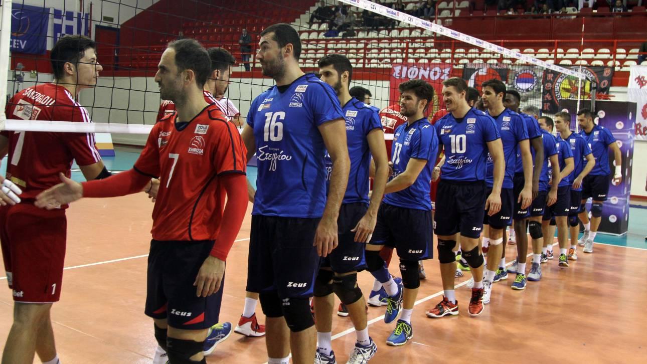 Ολυμπιακός και Κηφισιά θα διεκδικήσουν το Κύπελλο Ελλάδας στον τελικό του F4 βόλεϊ ανδρών