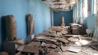 Ευχάριστη έκπληξη για τον διευθυντή αρχαιοτήτων της Παλμύρας η κατάσταση της πόλης