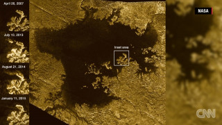 NASA: Το «μαγικό νησί» του Τιτάνα