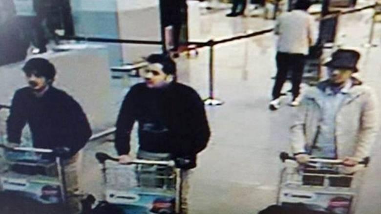 Βίντεο με τους τρεις τρομοκράτες στο αεροδρόμιο των Βρυξελλών