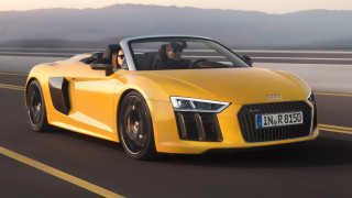 To καινούργιο Audi R8 Spyder δικαιολογεί απόλυτα το χαρακτηρισμό super car