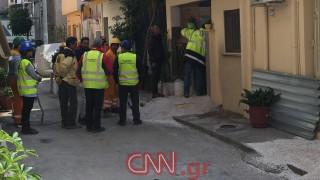 Τρόμος στους κατοίκους της Νίκαιας από τα έργα του μετρό - Υπέστη καθίζηση το έδαφος
