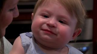 Μαθήματα ζωής δίνει ένα μωρό 5 μηνών
