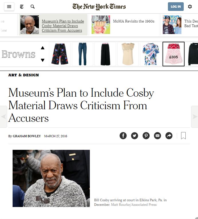 COSBY NYT