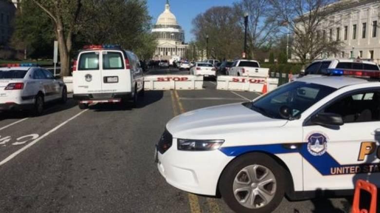 Συναγερμός στην Ουάσινγκτον-Ύποπτο πακέτο στο Καπιτώλιο