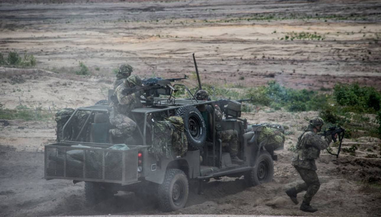 Ταξιαρχία τεθωρακισμένων αναπτύσουν οι ΗΠΑ στην Ανατολική Ευρώπη