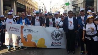 Πορεία από την Πάτρα στην Αθήνα κατά της ανεργίας