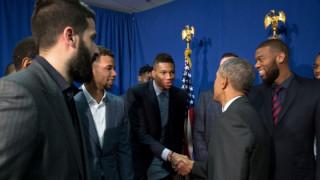 Όταν ο Αντετοκούνμπο συνάντησε τον Ομπάμα