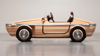 Το Toyota Setsuna είναι κατασκευασμένο σχεδόν εξ ολοκλήρου από ξύλο