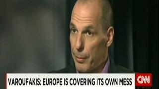 Βαρουφάκης στο CNN: «ΕΕ και ΔΝΤ παρατείνουν την κρίση στην Ελλάδα»
