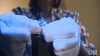 Ένα μπλε διαμάντι 32 εκατομμυρίων δολαρίων