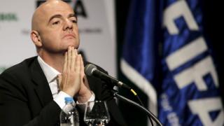 """""""Ανοιχτός"""" σε οποιαδήποτε έρευνα δηλώνει ο πρόεδρος της FIFA Τζιάνι Ινφαντίνο"""