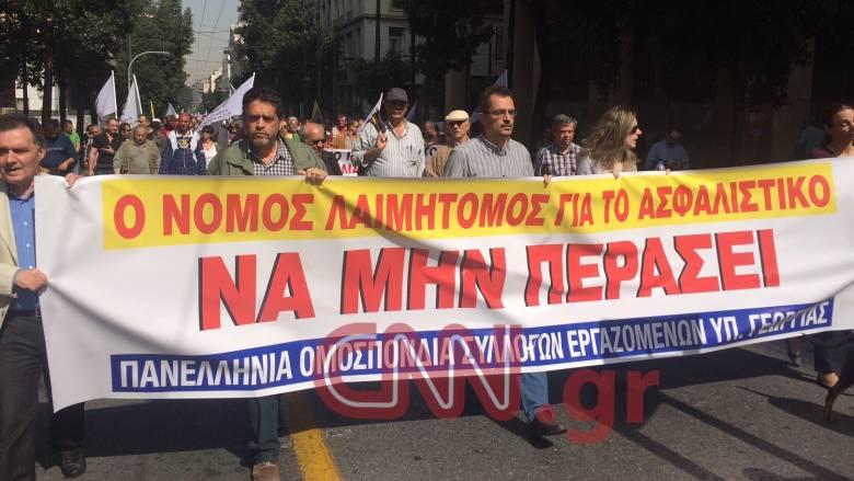 Απεργία Πέμπτης 7 Απριλίου: Συγκέντρωση και πορεία στο Σύνταγμα