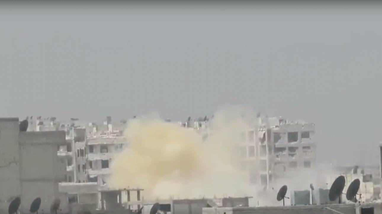 Συρία: Eπίθεση με χημικά όπλα στο Χαλέπι
