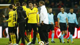 Ισόπαλο 1-1 έληξε το ντέρμπυ της 8άδας του Europa League ανάμεσα σε Ντόρτμουντ και Λίβερπουλ