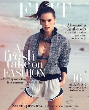 Η Αλεσάντρα Αμπρόσιο αγαπάει το athleisure όσο και τα παιδιά της