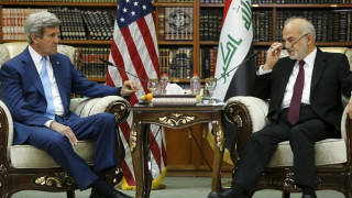 Επίσκεψη Κέρι στη Βαγδάτη και στήριξη στο Ιράκ στη μάχη κατά του ISIS