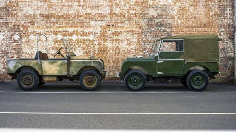 H Land Rover ανακατασκευάζει 25 από τα αρχέτυπα μοντέλα της