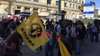 Επεισόδια στον Πειραιά σε διαδηλώσεις από ακροδεξιούς και αντιφασίστες