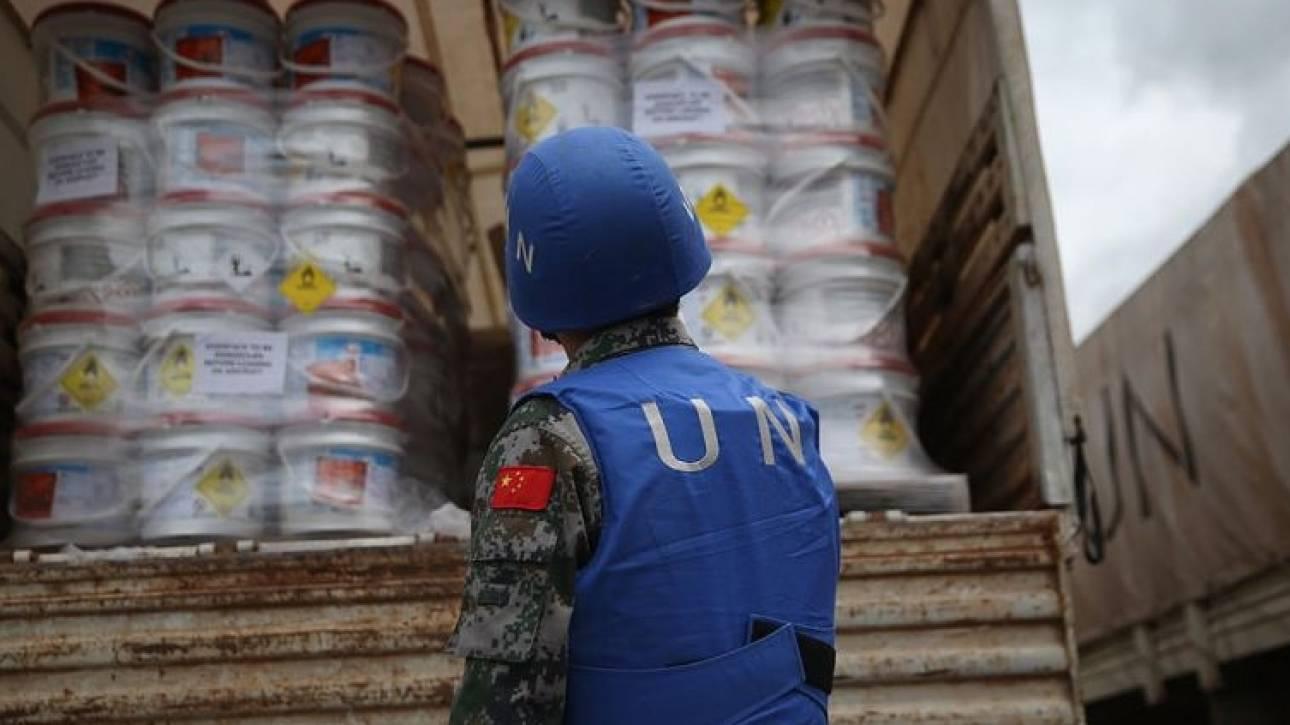 Συρία: Ρίψη τροφίμων από τον ΟΗΕ στη Ντέιρ αλ-Ζορ