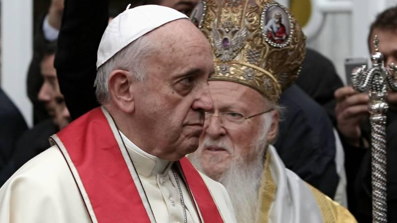 Παπική Τιάρα και Oρθόδοξη Μίτρα: Επίσκεψη Πάπα, ευκαιρία για προσέγγιση των δύο Εκκλησιών