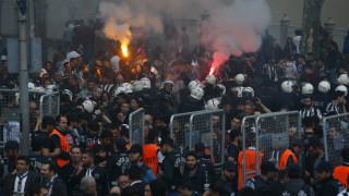Συγκρούσεις Αστυνομίας και οπαδών στα εγκαίνια του γηπέδου της Μπεσίκτας στην Τουρκία
