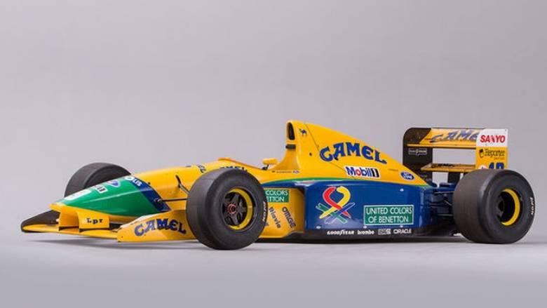 H Βenetton- Ford Β191/191Β, που χάρισε στο Michael Schumacher τους πρώτους του βαθμούς, πωλείται
