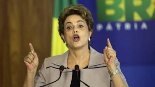 Βραζιλία: Για προδοσία κατηγόρησε τον αντιπρόεδρο της χώρας η Ρούσεφ