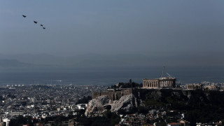 Aκρόπολη: Υπερπτήσεις μαχητικών αεροσκαφών
