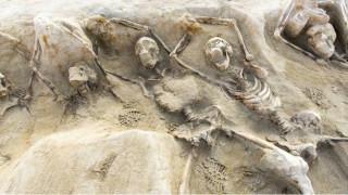 Εύρημα σπουδαίας σημασίας ο ομαδικός τάφος στο Φαληρικό Δέλτα