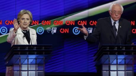 Εκλογές ΗΠΑ: Ανέβασαν τόνους Κλίντον - Σάντερς στο... νεοϋρκέζικο ντιμπέιτ