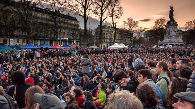 Συγκρούσεις με την αστυνομία στο Παρίσι