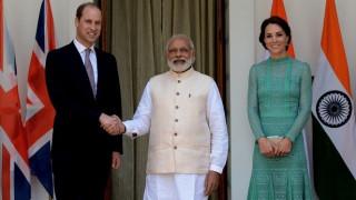 Ο Ινδός πρωθυπουργός άφησε …το σημάδι του στον πρίγκιπα Ουίλιαμ