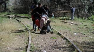 Επιχείρηση για να ανοίξει η σιδηροδρομική γραμμή στην Ειδομένη