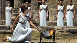 Με επιτυχία έγινε η πρόβα της Αφής της Φλόγας στην Αρχαία Ολυμπία 24 ώρες πριν την τελετή