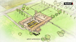 Ανακάλυψε τυχαία κάτω από το σπίτι του αρχαία ρωμαϊκή έπαυλη