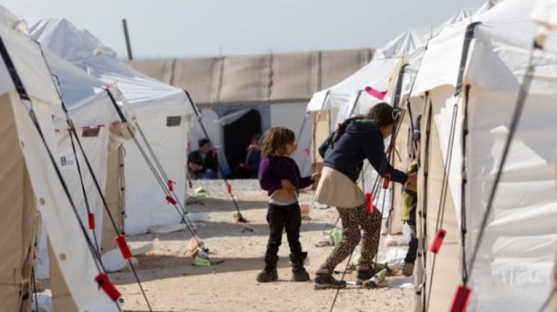 Φωτιά στο κέντρο φιλοξενίας προσφύγων στα Διαβατά