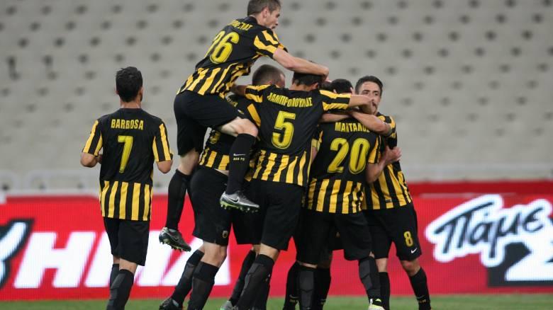 Η ΑΕΚ κέρδισε 1-0 τον Ατρόμητο στον πρώτο ημιτελικό του Κυπέλλου