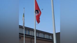 Ύψωσαν ναζιστική σημαία σε δημαρχείο στη Σουηδία
