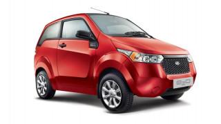Το ινδικό Mahindra Ε20 είναι ένα σχετικά φτηνό ηλεκτρικό μίνι αυτοκίνητο