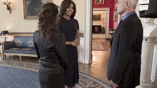 H Μισέλ Ομπάμα υποδύεται τον εαυτό της στο NCIS